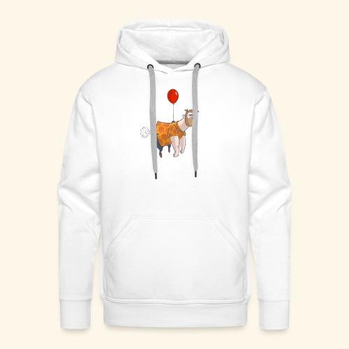 Ballon man - Mannen Premium hoodie
