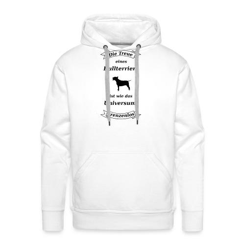 Bullterriers Treue - Männer Premium Hoodie
