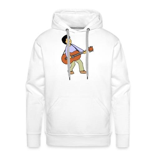 play music - Men's Premium Hoodie