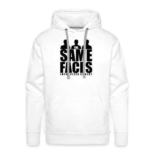 Same Faces Logo - Black - Men's Premium Hoodie