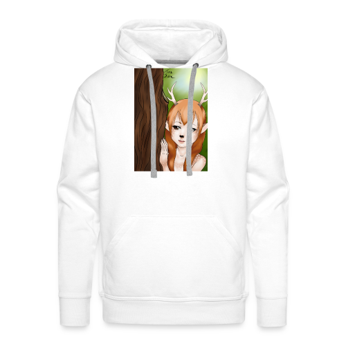 Sam sung s6:Deer-girl design by Tina Ditte - Men's Premium Hoodie