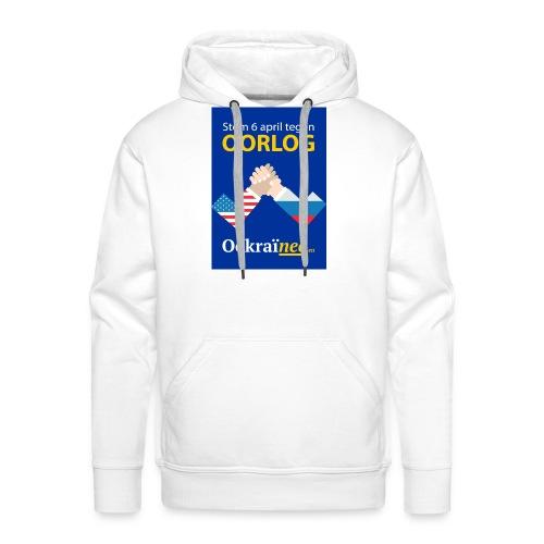 Oorlog-nee Shirt - Mannen Premium hoodie