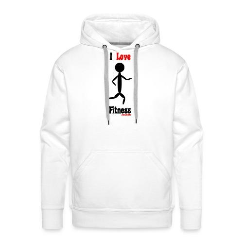 Fitness #FRASIMTIME - Felpa con cappuccio premium da uomo