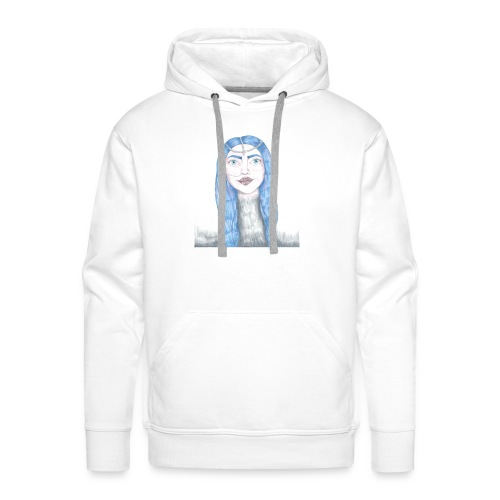 Blue girl - Premiumluvtröja herr