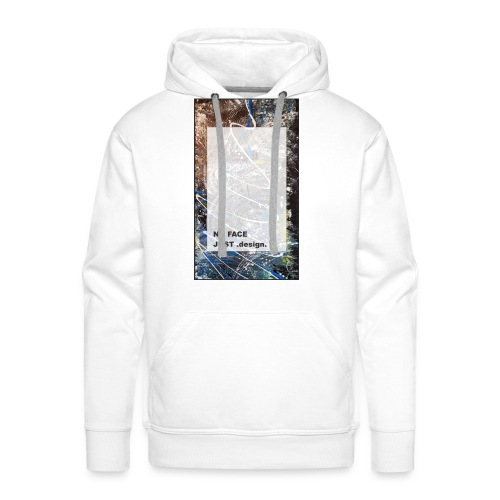no face just design - Männer Premium Hoodie