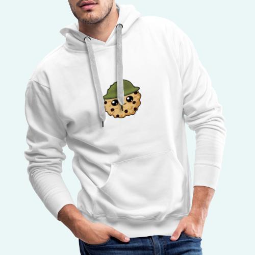 cookiewhite - Männer Premium Hoodie