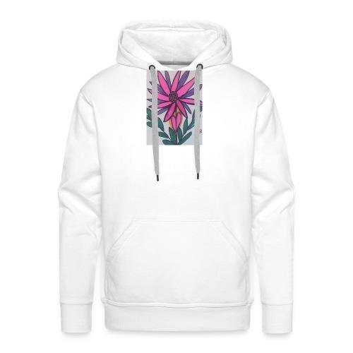 Flor - Sudadera con capucha premium para hombre