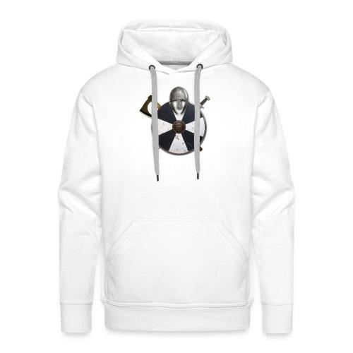 vikingr - Sudadera con capucha premium para hombre