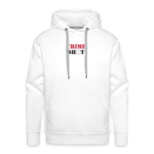 Crimeshot logo - Men's Premium Hoodie