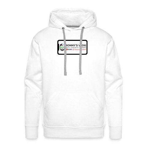 iPhone X by Ronny's Vlog - Männer Premium Hoodie