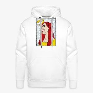 Smile ! - Sweat-shirt à capuche Premium pour hommes
