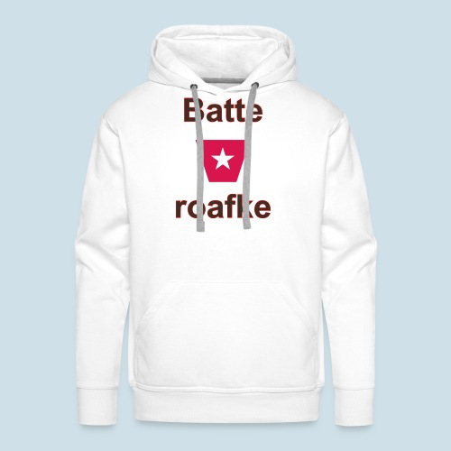 Batteraofke w1 tp vert b - Mannen Premium hoodie
