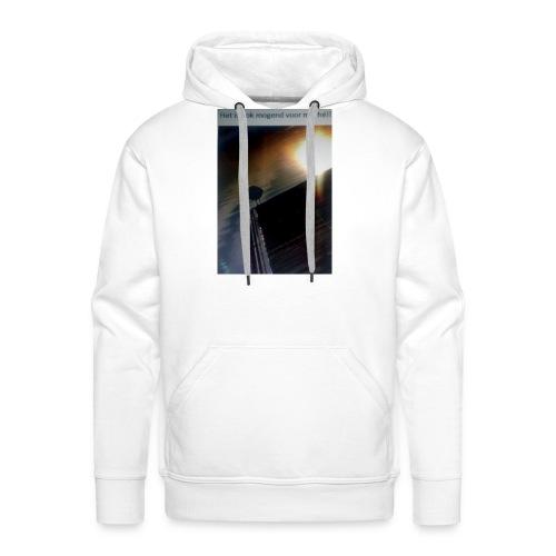 'tis morgend voor iedereen - Mannen Premium hoodie
