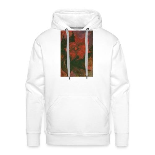 Flower 6 - Bluza męska Premium z kapturem