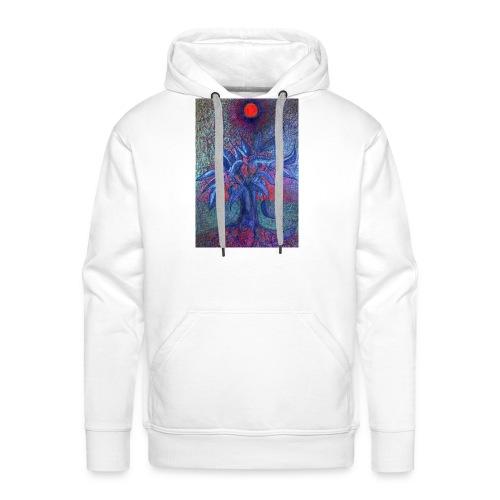 DrzewoKwiat - Bluza męska Premium z kapturem