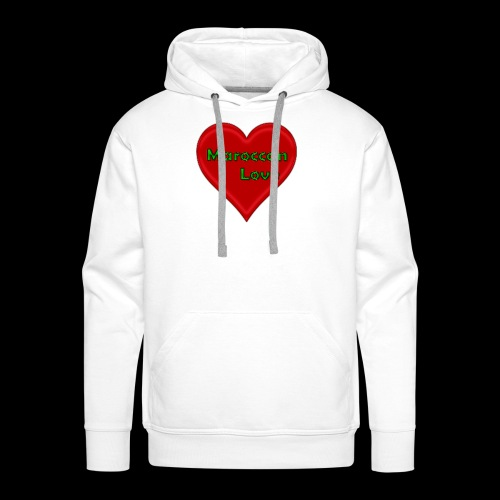 Maroccan_Love Original - Männer Premium Hoodie