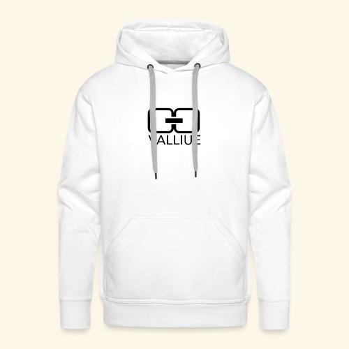 Valliue white collection - Sweat-shirt à capuche Premium pour hommes
