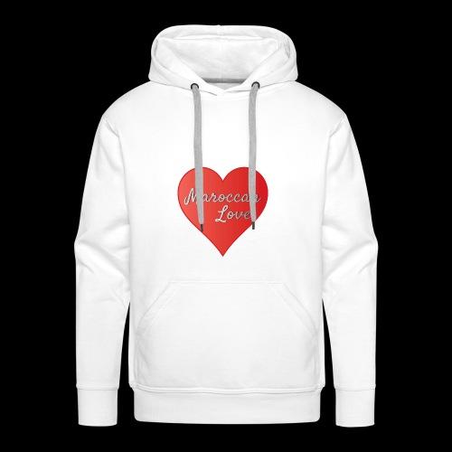 Maroccan_Love_LifeStyle Logo - Männer Premium Hoodie