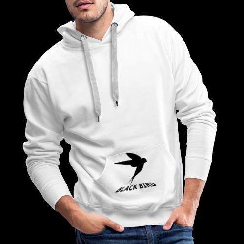 BLACK BIRD - Sweat-shirt à capuche Premium pour hommes