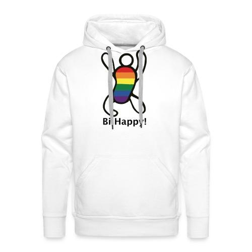 Bi Happy! - Mannen Premium hoodie
