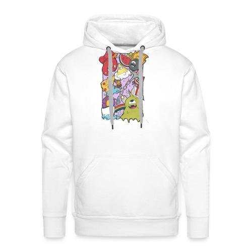 bobby land - Sweat-shirt à capuche Premium pour hommes