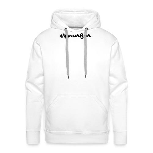 LogoText - Mannen Premium hoodie