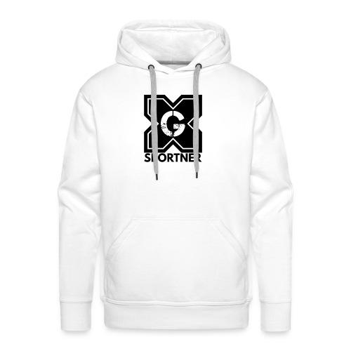 Logo GX SPORTNER noir - Sweat-shirt à capuche Premium pour hommes
