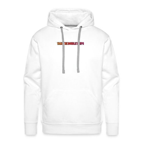 TAKE THE DOUBLE WHIPS ICON - Men's Premium Hoodie