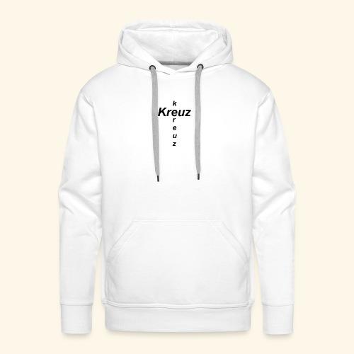 kreuz - Männer Premium Hoodie