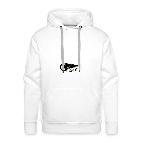 fahr oder stirb logo - Männer Premium Hoodie