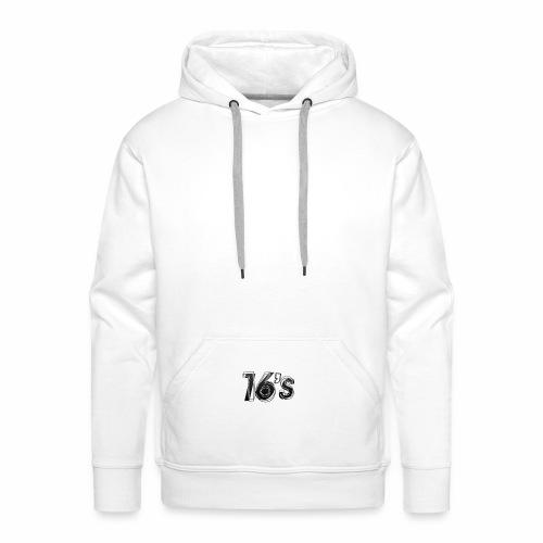 16's - Sudadera con capucha premium para hombre