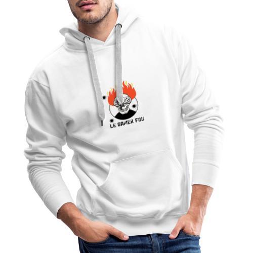 logo mat - Sweat-shirt à capuche Premium pour hommes