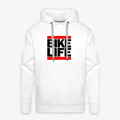 bikelife logo - Men's Premium Hoodie