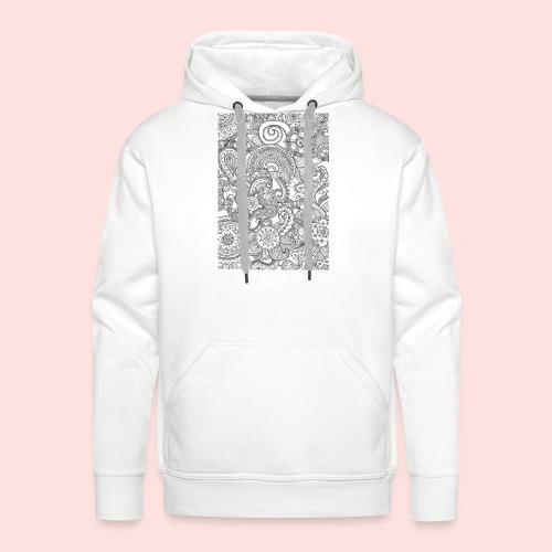 Mandela hoesje - Mannen Premium hoodie