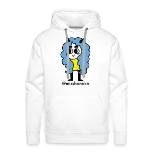 hana-chan ✻ blue yellow black - Men's Premium Hoodie