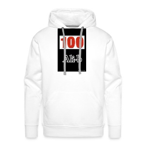 Limited edition Ali-b 100 subscribes merchandise - Men's Premium Hoodie