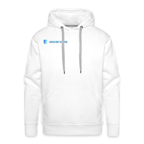 KomvilCraft | MINIMALISTISCH + Text - Männer Premium Hoodie