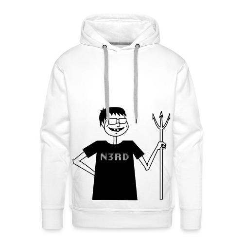 Evil Nerd - Männer Premium Hoodie