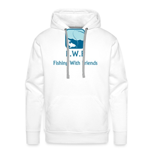 Fishing With Friends Logo - Men's Premium Hoodie