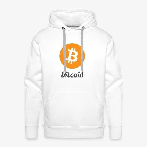 Bitcoin Classic Design - Männer Premium Hoodie