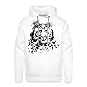 David Pucher Art Tiger - Männer Premium Hoodie