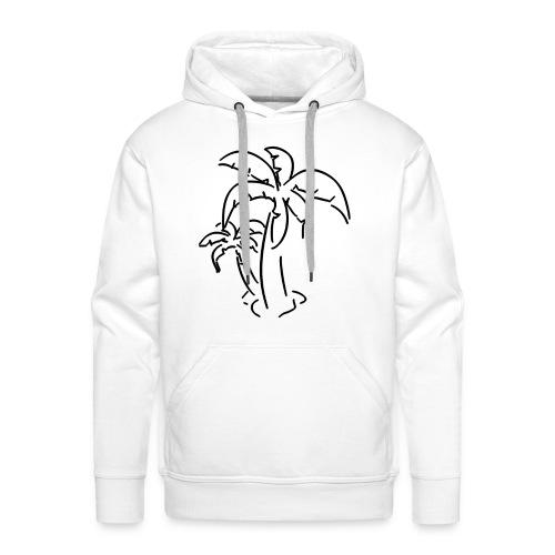 HOODIES Palmier - Sweat-shirt à capuche Premium pour hommes