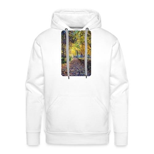 Autumn - Bluza męska Premium z kapturem