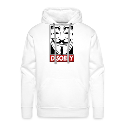 Disobey T-Shirt Classic - Felpa con cappuccio premium da uomo