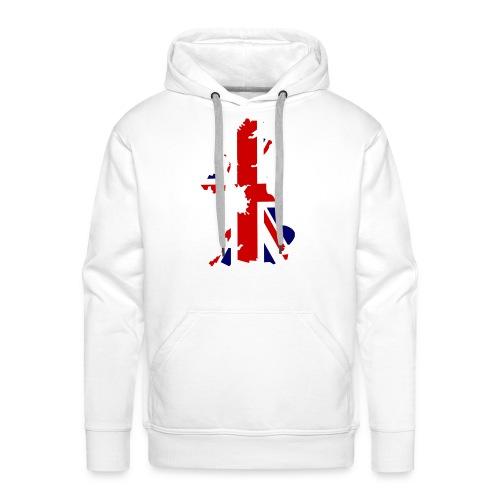 England Love - Sweat-shirt à capuche Premium pour hommes