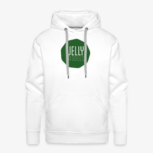 JellyModels Logo T-Shirt - Felpa con cappuccio premium da uomo