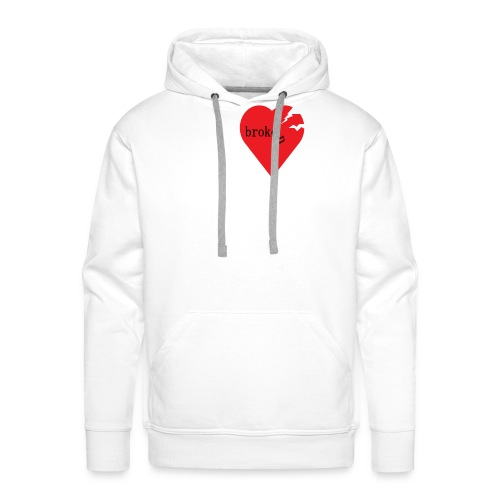 broken heart - Männer Premium Hoodie