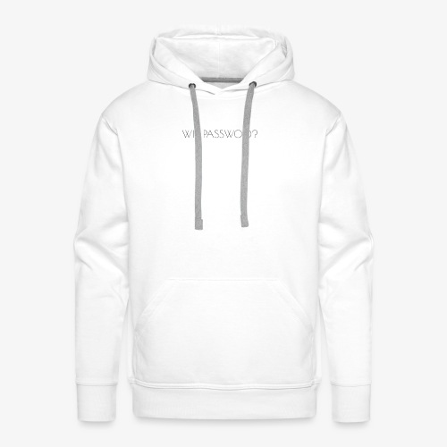 WIFI PASSWORD? - Men's Premium Hoodie