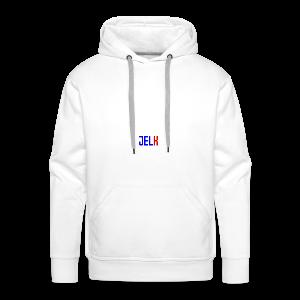 Jelk name - Sweat-shirt à capuche Premium pour hommes