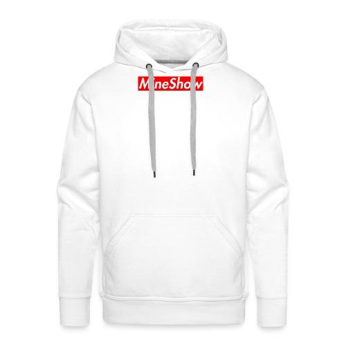 MineShow Box-Logo - Männer Premium Hoodie